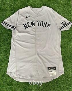 Aaron Judge New York Yankees Game Used Worn Jersey 2 HRs Signed MLB Auth