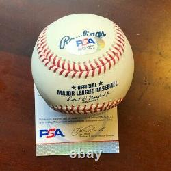 Aaron Judge New York Yankees Psa/dna Authenticated Signed Mint Manfred Baseball