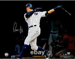 Aaron Judge New York Yankees Signed 16 x 20 Home Run Follow-Through Photo