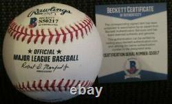Aaron Judge New York Yankees Signed 2015 Futures Game Baseball Beckett Bas Coa