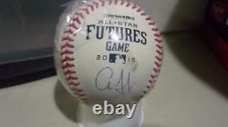 Aaron Judge New York Yankees Signed 2015 Futures Game Baseball JSA