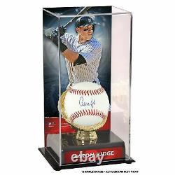 Aaron Judge New York Yankees Signed Baseball Display Case