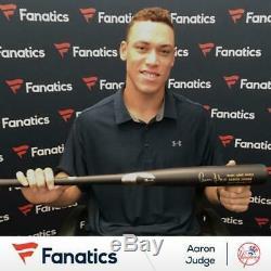 Aaron Judge New York Yankees Signed Chandler Game Model Bat Fanatics