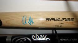 Aaron Judge New York Yankees Signed FS Rawlings Bat JSA