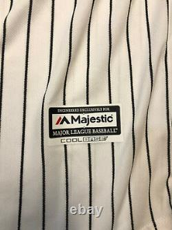 Aaron Judge New York Yankees Signed Majestic White Authentic Jersey COA