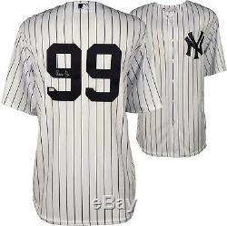 Aaron Judge New York Yankees Signed Majestic White Replica Jersey Fanatics