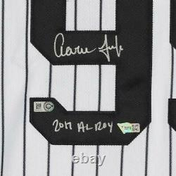 Aaron Judge New York Yankees Signed White Authentic Jersey & 2017 AL ROY Insc