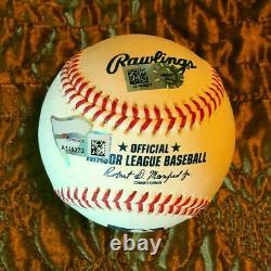 Aaron Judge New York Yankees signed ML baseball MLB and Fanatics hologram