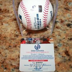 Aaron Judge Ny Yankees #99 Cubed Signed Autographed Authenticated Baseball Coa