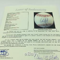 Aaron Judge Pre Rookie Signed 2014 Game Used Arizona Fall League Baseball JSA