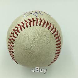 Aaron Judge Pre Rookie Signed 2015 Game Used Minor League Baseball JSA COA