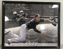 Aaron Judge Signed 16x20 Diving Catch New York Yankees