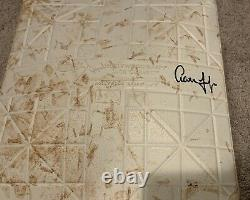 Aaron Judge Signed 2017 Game Used Base MLB Authentication New York Yankees