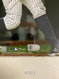 Aaron Judge Signed 8x10 Framed Photo MLB NY Yankees Fanatics Hologram
