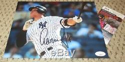 Aaron Judge Signed 8x10 Photo Jsa Autograph New York Yankees Baseball Auto Coa
