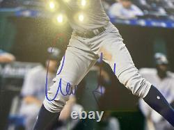 Aaron Judge Signed 8x10 Photo Psa Dna Coa Autographed New York Yankees