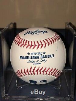 Aaron Judge Signed Autographed Omlb Baseball Rookie Signature Yankees