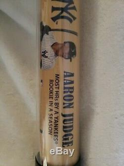 Aaron Judge Signed Baseball Bat Authenticated By JSA