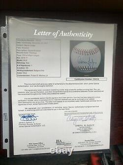 Aaron Judge Signed Baseball JSA Full Letter Rawlings Excellent Condition
