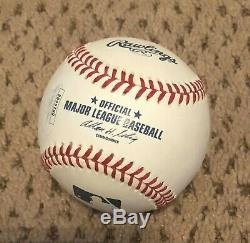 Aaron Judge Signed Baseball New York Yankees Auto Jsa Loa Omlb