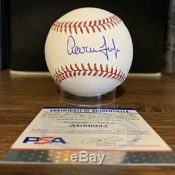 Aaron Judge Signed Baseball PSA COA