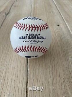 Aaron Judge Signed Baseball ROY Autograph Ball Mint