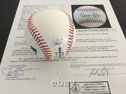 Aaron Judge Signed Game Mlb Baseball Autographed Jsa Coa New York Yankees