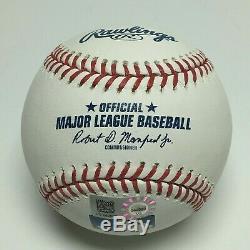 Aaron Judge Signed Major League Baseball MLB 2017 AL ROY MLB COA VS249082