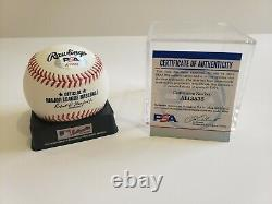 Aaron Judge Signed Major League Baseball MLB w / PSA COA (100% Authentic)