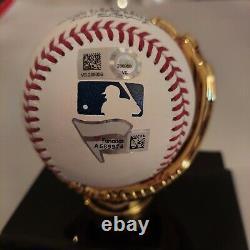 Aaron Judge Signed OML Baseball with Fanatics COA and Official MLB COA + CASE