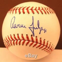 Aaron Judge Signed Official MLB Baseball Yankees Beckett Auto E67356 Full Name