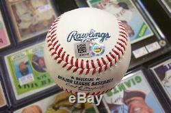 Aaron Judge Signed Official Mlb Baseball Ny Yankees Mlb Authentic Hologram
