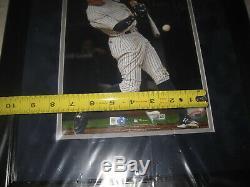 Aaron Judge Yankees #99 Signed 8x10 Photo Framed Fanatics & MLB Holograms