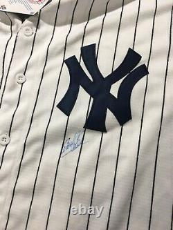 Aaron Judge Yankees Jersey Autographed By Gerrit Cole Baseball XL JSA Certified