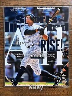 Aaron Judge Yankees Signed Autographed 16x20 Photo Fanatics MLB Hologram