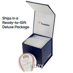 Aaron Judge Yankees Signed Baseball & 2018 ASG Gold Glove Display Case with Image