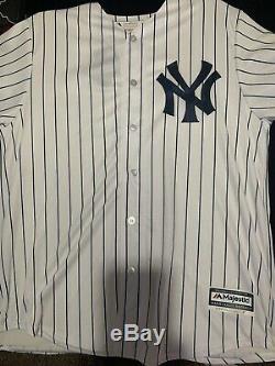 Aaron Judge Yankees Signed Majestic White Replica Jersey, Fanatics & MLB COA