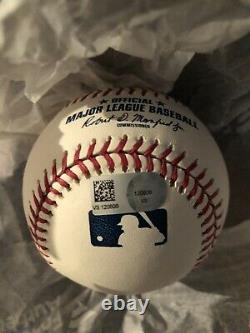 Aaron Judge Yankees Signed and Numbered 100th Home Run Ball 12/100 Fanatics