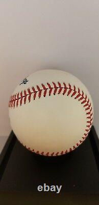 Aaron Judge and Giancarlo Stanton Signed Baseball