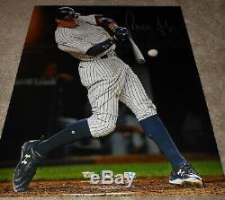 Aaron Judge autographed 16x20 photograph New York Yankees ROY! Fanatics