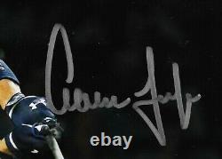 Aaron Judge signed 8x10 photo framed Yankees coin Mint autograph Fanatics COA