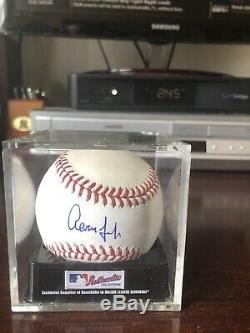 Aaron Judge signed MLB Baseball (2 fanatics authenticated holograms on ball)