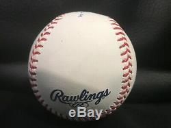Aaron Judge signed baseball YANKEES COA