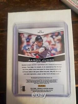 Aaron judge 2020 numbered And Autographed Card 5/5