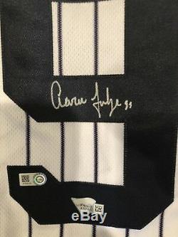Aaron judge autographed jersey