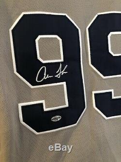 Aaron judge autographed jersey COA