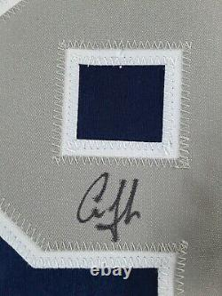 Autographed Aaron Judge New York Yankees Navy Blue Jersey With Coa