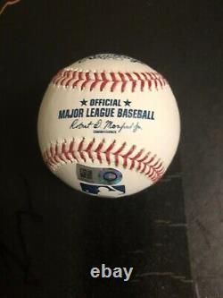 Autographed Aaron Judge baseball MLB and Fanatics hologram certified signed