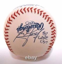 JSA LOA Aaron Judge Nick Goody Signed Autographed Nationals NY Yankees Baseball