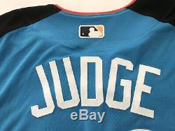 NEW YORK YANKEES AARON JUDGE signed 17 ASG ALLSTAR GAME HR DERBY JERSEY BECKETT